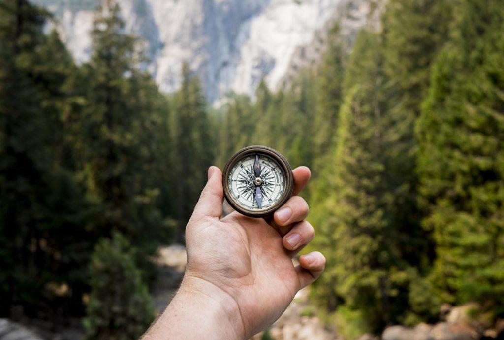 Brug naturen til at få kontakt med dit indre kompas